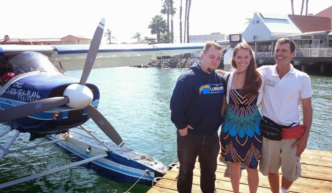 Seaplane Wedding Proposal